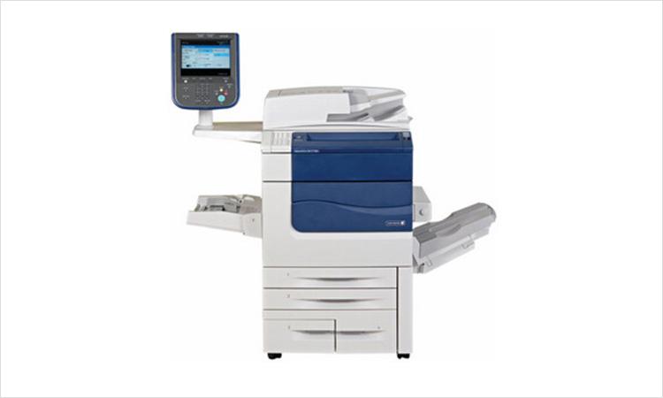 富士施乐5代 C7780CPS 高端办公彩色激光打印机租赁/打印机出租